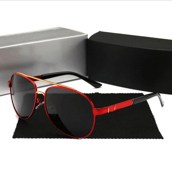 bajo precio edac5 7780e Compre Mercedes Benz 751 Marca De Calidad Superior Gafas De Sol Hombres  Mujeres Verano 751 Gafas De Sol UV400 Polarizadas Sport Sunglasses Gafas De  ...