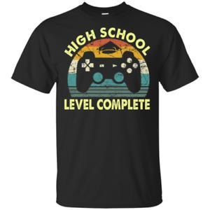 2019 High School Level Komplette Gamer Abschluss Herren T Shirt S 6XL