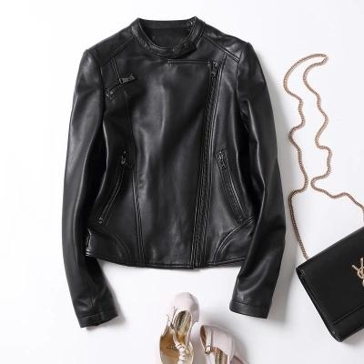 top popular 2018 New Autumn and Winter Motorcycle Leather Jacket 2020