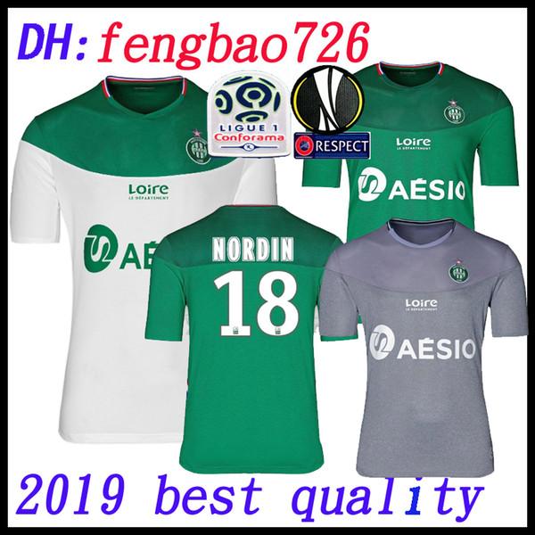 ASSE ST 19 20 Etienne soccer Jerseys home away THIRD 2019 2020 AS Saint-Étienne KHAZRI CABELLA BERIC NORDIN HAMOUMA JERSEY FOOTBALL SHIRT