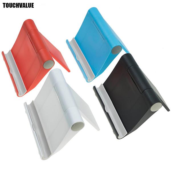Mavi Kırmızı Beyaz Siyah Gül Telefon Standı Ayarlanabilir Masa Cep Telefonu Danışma Standı Için Taşınabilir Telefon Aksesuarları