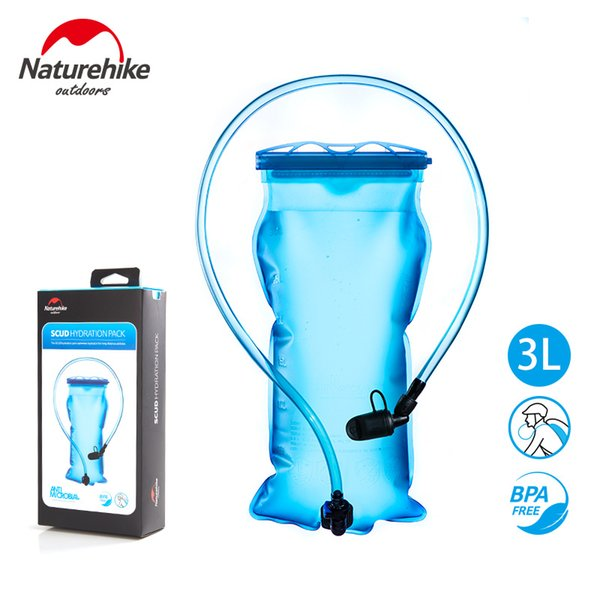 best selling Naturehike Outdoor no smell soft Bladder Water Bag Cycling Hiking Drinking Water Bags Sports Climbing Running Bladder NH18S070-D