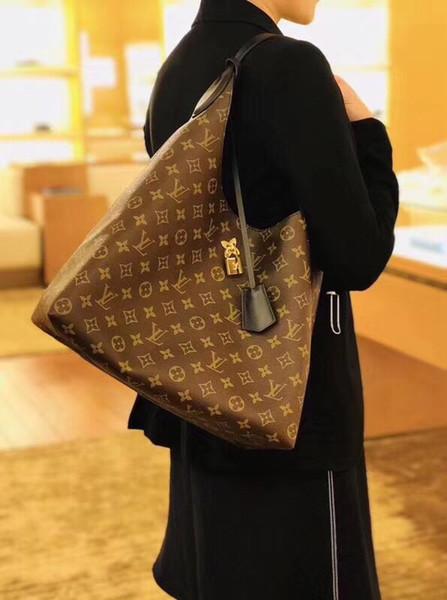 2019 Марка en и женщины большой емкости багажа сумка настоящая водонепроницаемая сумка плеча сумки T4 M436122
