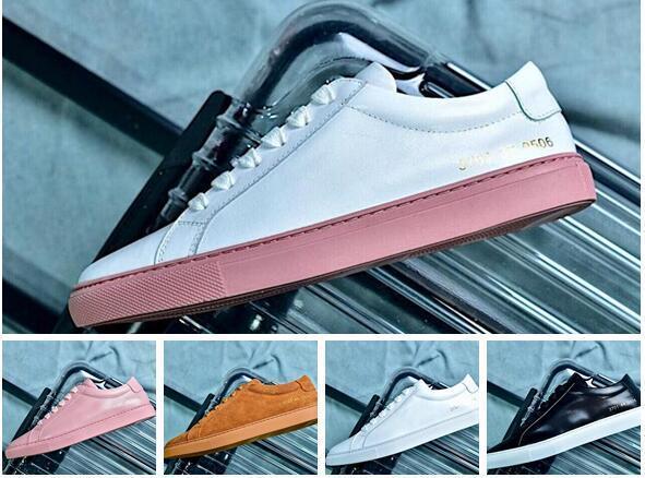 Kadınlar Ortak Projeleri Siyah Beyaz Düşük Üst Ayakkabı Erkek Kadın Sneakers Hakiki Deri Rahat Ayakkabılar Daireler Chaussure Femme Homme
