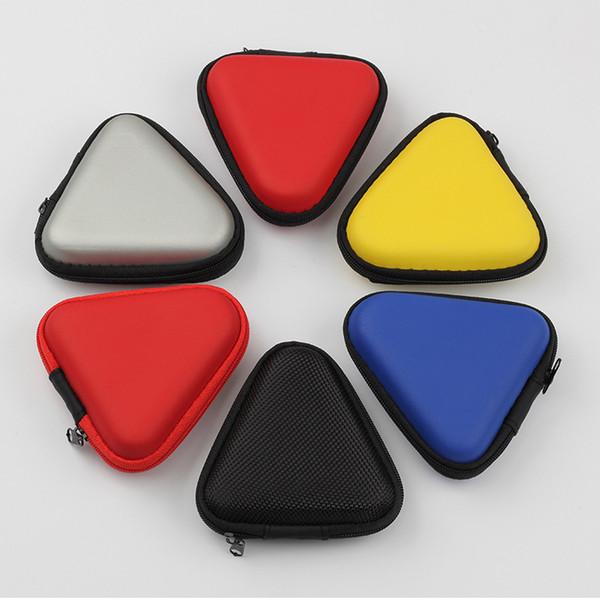 Dreieck wasserdichte kopfhörer aufbewahrungstasche eva anti-druck aufbewahrungsbox fingertip gyro verpackungsbox mehrere farben
