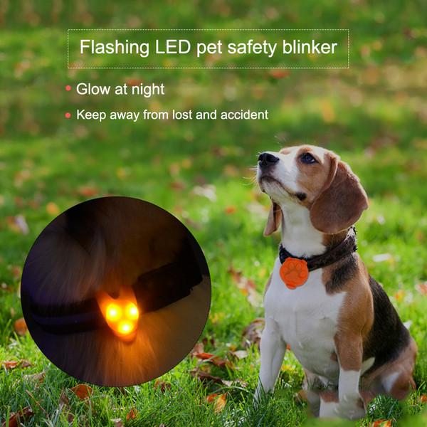 Waterproof Flashing Led Pet Safety Light For Dog Outdoor Flashing Pet Dog Safety Collar Blinker In 300 M Range