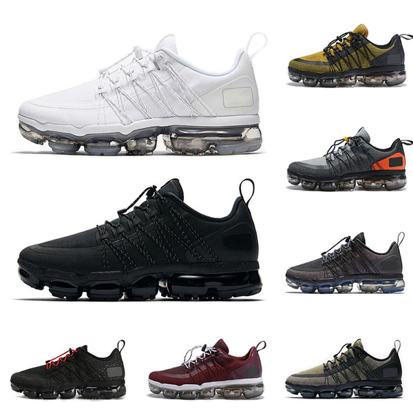 Compre 2019 Nueva Llegada Run Utility Hombres Zapatos Para Correr Medio Oliva Borgoña Crush Hombre Zapatillas De Deporte Moda Diseñador De Deporte