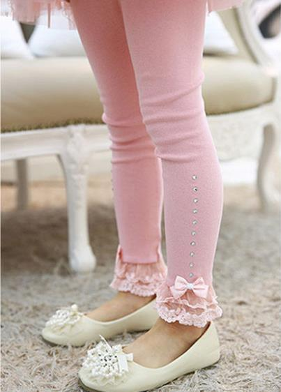 #1 lace bow princess trousers