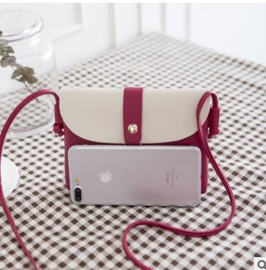 New creative small bee shell bag art clash color leisure mobile phone bag litchi pattern cross-border cross body bag 02