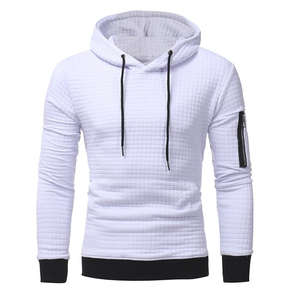2019 New High end Casual Hoodie Men Fashion Unique Korean Style Long-sleeved men Sweatshirt good quality