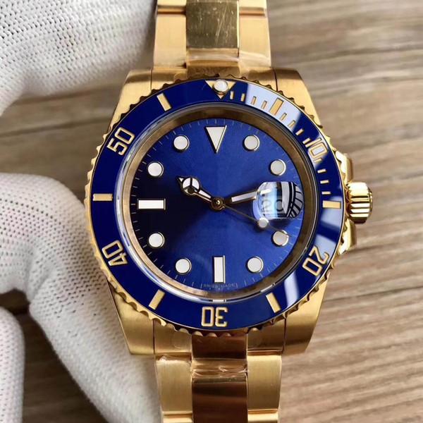 Top Luxus Herrenuhren Beliebte fabrik 2836 Automatische Maschinen Uhren 904L Edelstahl Männer Leuchtende Wasserdichte Armbanduhr Mit box