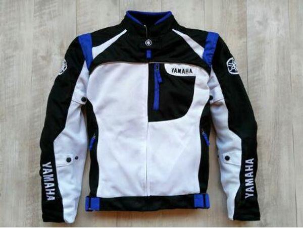 Summer Mesh Motorcycle Jackets Moto Racing Windproof waterproof Jackets fit for Yamaha Motor With 5pcs Protectors Men MotorbikeF