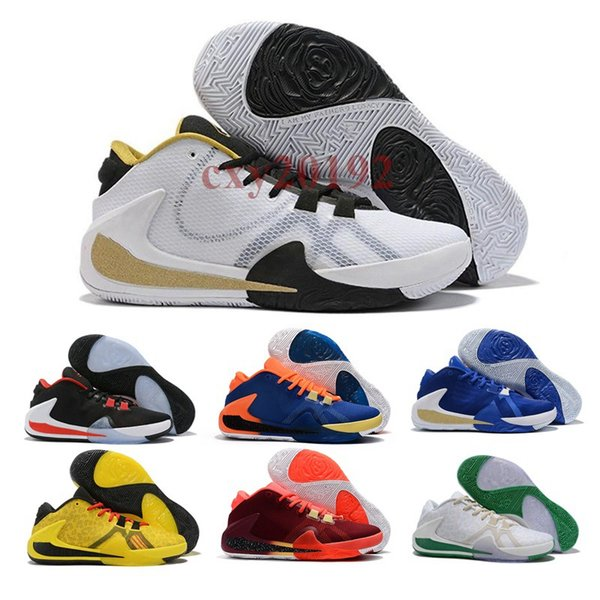 Hot New Style ZOOM Freak 1 Giannis Antetokounmpo GA I 1S Signature Basketball Shoes Cheap GA1 Mens Sports Sneakers