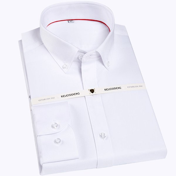 RTX101 G sleeve non-iron easy care formal men dress shirts without front pocket white male tops