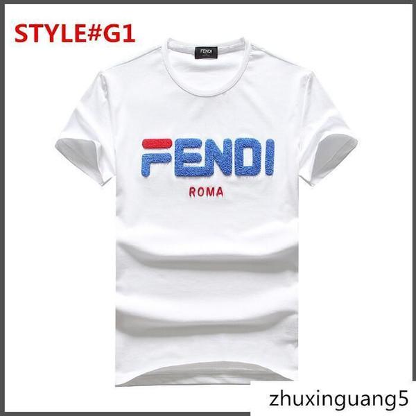 Marque italienne T-shirts Homme T-shirt à Manches Courtes Logo Col Rond Lafayette T-shirt Demi-Manches Imprimé Garçon
