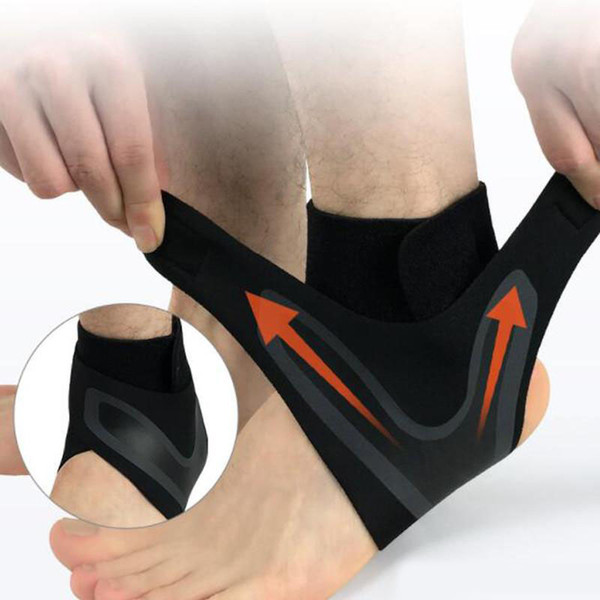Sport Ankle Support Foot Ankle Protector Elastic Protect Sports Safety Running Basketball Volleyball Brace Support Ankle Equipment M17Y
