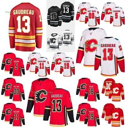 30b879b9d 2019 All Star Calgary Flames Custom Jersey 13 Johnny Gaudreau Matthew  Tkachuk James Neal Mark Giordano Mikael Backlund Home Hockey Jerseys