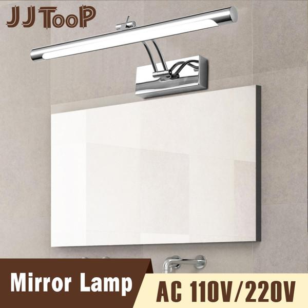 Minimalist LED Wall Lamp Mirror Light Indoor Lighting Fixture Decor Dresser 110V 220V Waterproof Bathroom Makeup