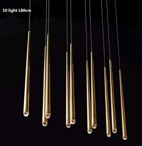 10 ışık doğrultusu L 80 cm