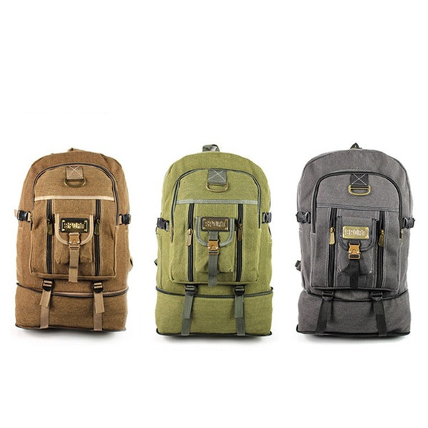 Travel Retro Shoulder Bag Canvas Casual Backpacks Sports Backpacking Packs For Camping And Hiking High Capacity 21 5hz E1
