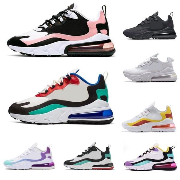 2020 chaussures de course hommes réagissent design hommes pour femmes baskets de sport occasionnels BAUHAUS BLANCHI corail noir de blanc gris jaune Chaussures