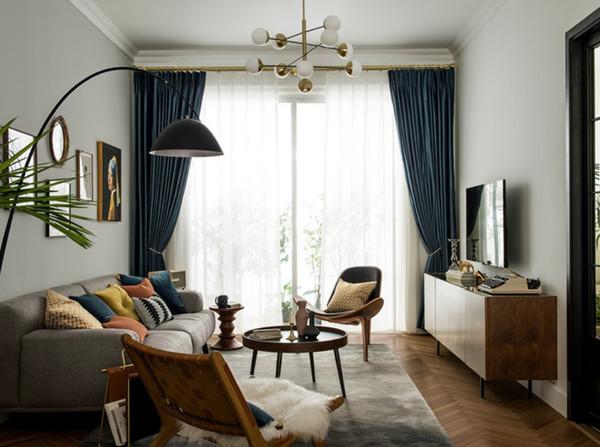 Luxurious Retro Classic Elegant Graceful Shading Dutch Velvet Dark Velvet Polyester Laminated Shading Product Custom Curtain