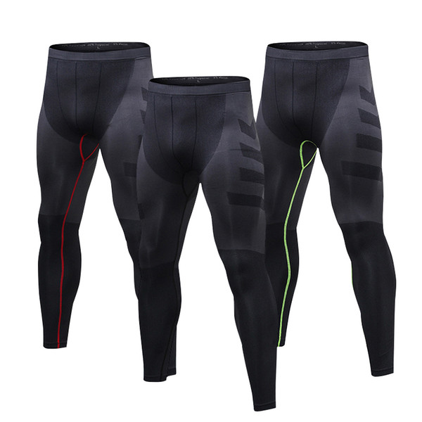 Men Compression Pants Quick Dry Sports Tights Leggings for Running,Workout,Training,Gym,Cycling male Outdoor leggings