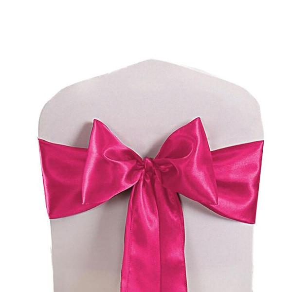 Chair Covers Sashes banda superiore sedia libera Sash nastro per Matrimoni Eventi e fasce della decorazione del partito Tie