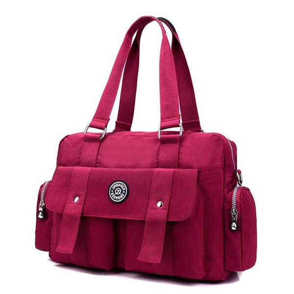 Women Vintage Travel Messenger Bags Fashion Ladies Waterproof Solid Nylon Crossbody Bags Bolsas Femininas Female Shoulder Bags4