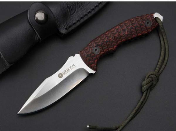 Platyceps D2 лезвие 59-60HRC прямой фиксированным лезвием ножа тактический самообороны edc нож коллекция охотничьи ножи рождественский подарок a1174