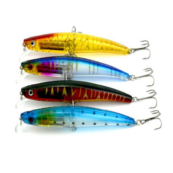 Fishing Lure Swimbait Crankbait Plastic Bionic Hard Bait 11.5cm Artificial Lures Fishing Tackle 4 Colors ZZA283