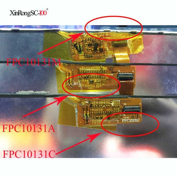 10,1 Zoll 31pin Tablette LCD-Anzeigenschirm FPC10131M FPC10131C FPC10131A LCD-Bildschirm-Reparatur-Ersatz geben Verschiffen frei