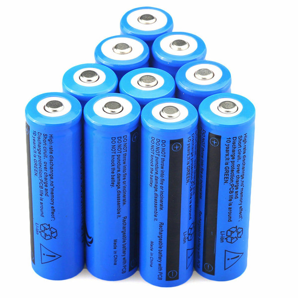 top popular High Quality Rechargeable 18650 Battery 3000mAh 3.7v BRC Li-ion Battery for Flashlight Torch Laser Headlamp 2021