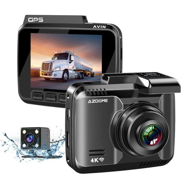 Azdome Gs63H 4K Gps incorporado Wifi Night Vision Recorder Driving Mirror Dash Cam con lente de ángulo amplio de 170 grados coche