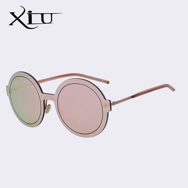 Color de lentes: rosa y rosa espejo