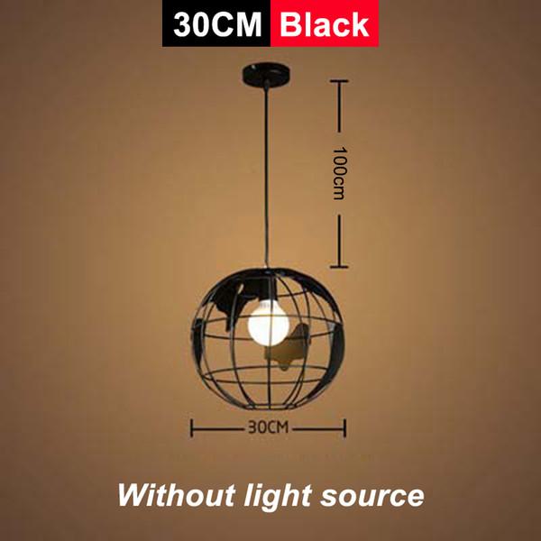 Siyah / 30cm