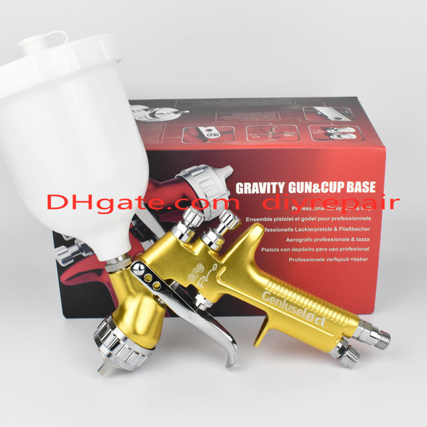 Limited Edition High Quality Golden GFG Pro Professional Spray Gun HVLP Auto Spray Gun High Efficiency Spray Fog