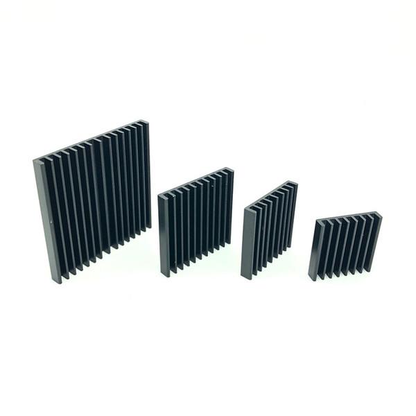Kühlkörper Aluminium 2,5 / 3 / 3,5 / 4 / 5CM Ultradünner Aluminium-Kühler für den CPU-Kühlkörper Elektronik Lüfter Kühler