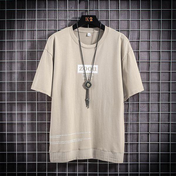 Camiseta gris hombres
