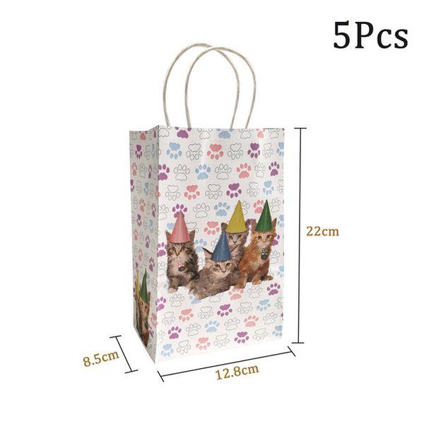 5pcs paper bags