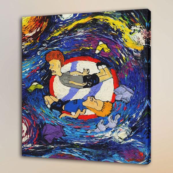 Van Gogh Great Cornholio,HD Canvas Print Home Decor Art Painting/Unframed/Framed