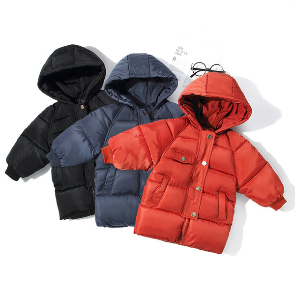 Kids Toddler Boys Jacket Coat & Jackets for Children Outerwear Clothing Casual Baby Girls Clothes Autumn Winter Parkas