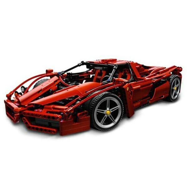 Compatible car Racers Technic ENZO 1:10 Super Sports Car Enzo Model Blocks Set Brick Children's Toys Gifts T190918