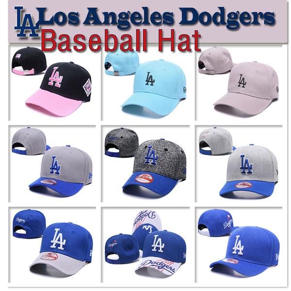 Erkek kadın Los Angeles Yüksek kalite örgü LA Beyzbol şapkası Dodgers Beyzbol Şapka