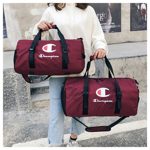 letter Travel Bags Sports Duffle Bag Fitness Yoga Carry On Luggage Large Capacity Waterproof Tote Shoulder Bags MMA1750