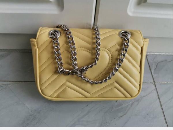 yellow/silver chain