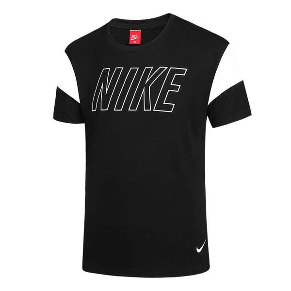 Erkek Marka Yaz T Gömlek Çizgili Kontrast Patchwork T Shirt Jogging Yapan Mens Pamuk Kısa Kollu Katı Renk Casual Tees Boyutu L-4XL # 930284