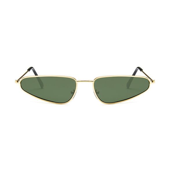 Summer New Fashion Unisex Cat Eye Sunglasses Europe Retro Water Drop Shape Sunglass For Men Women's