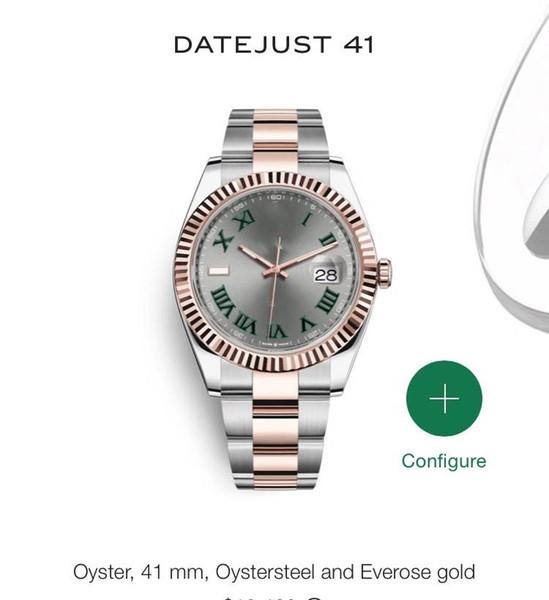 Hot vender luxo wristwatches automática luxo movimento de varredura relógios tamanho preto rosto cinta de aço inoxidável 19 cor relógio 009