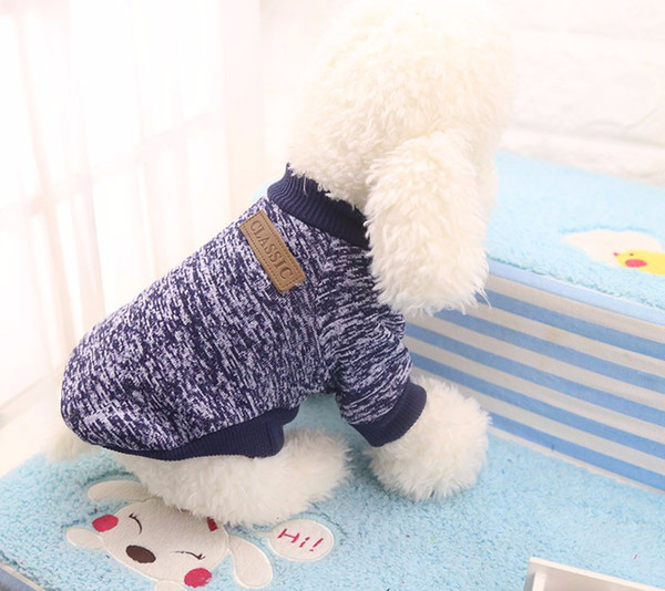 Warm Dog Clothes Coat Winter Dog Clothes For Chihuahua Yorkie Clothing Cheap Small Dog Clothes With Free Shipping Cat Pet Jacket